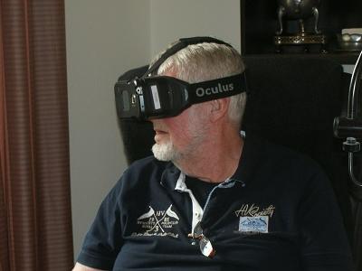 Het gebruik van VR in de ouderenzorg